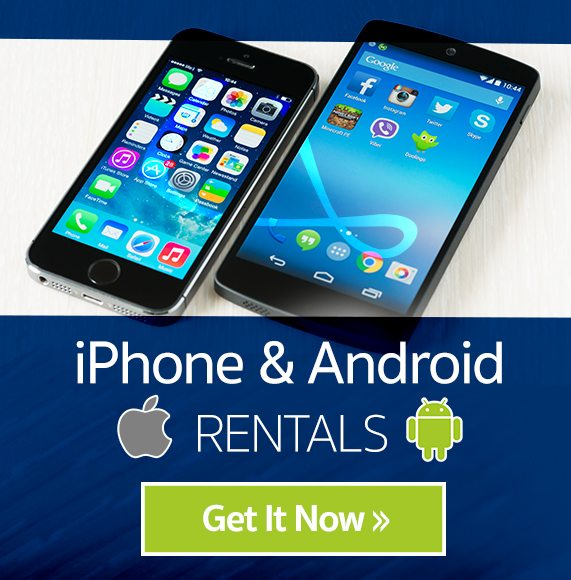 phone rentals for your trip to Israel