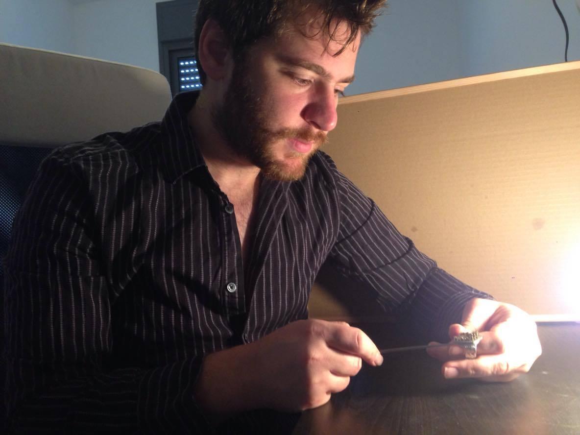 jewelry designer makes city rings in israel