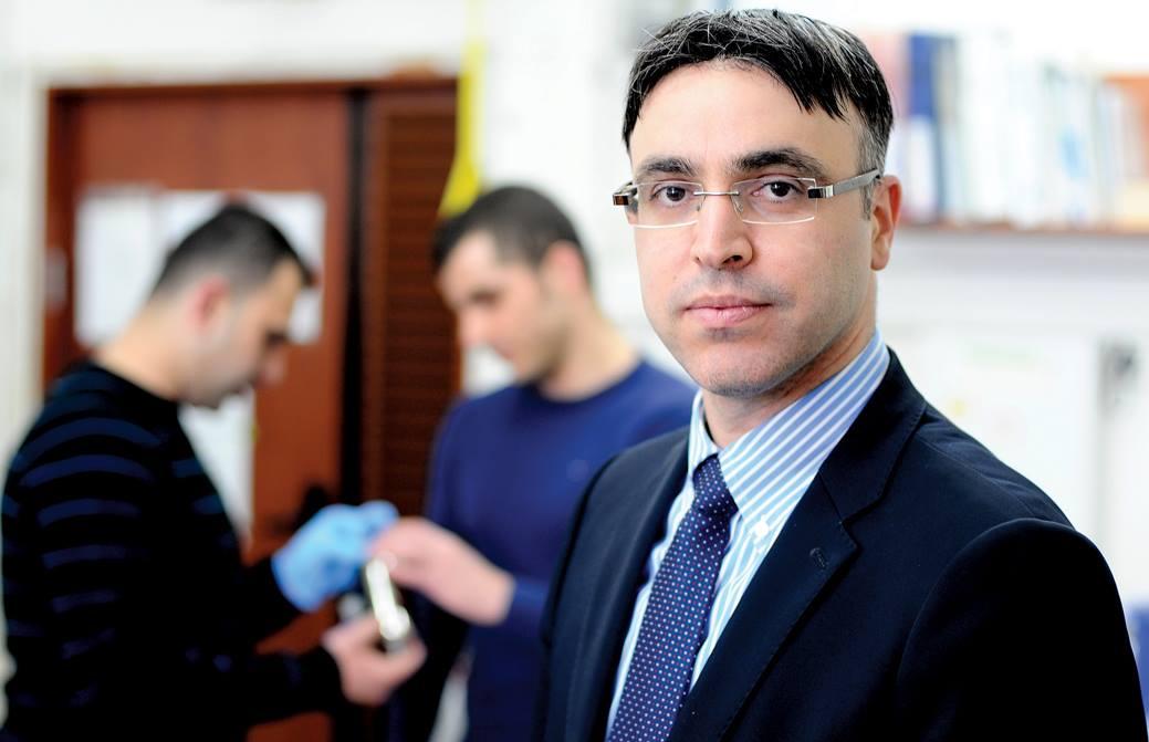 Professor Hossam Haick researcher and nanotechnology expert working for the Technion
