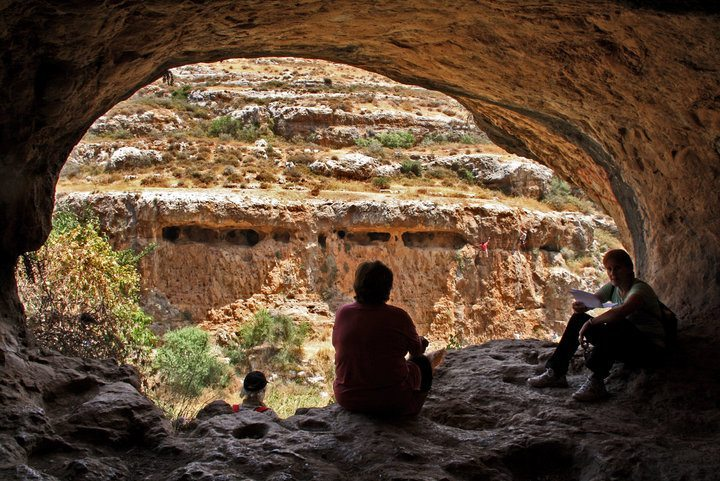 Nahal Halilim is near the Jerusalem suburb of Mevasseret and features a family-friendly hike and natural springs
