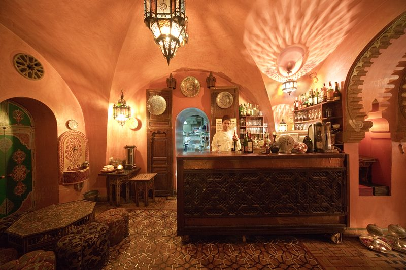 Darna in Jerusalem is a Moroccan theme restaurant where the waiters dress in traditional Moroccan garb