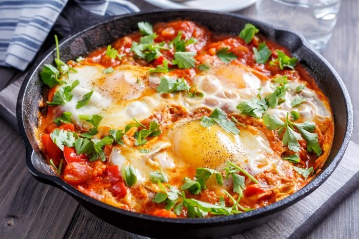 Dr Shakshuka in the old city of Jaffa is a popular Israeli restaurant