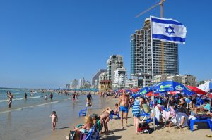 Year in Israel: Beaching it Up
