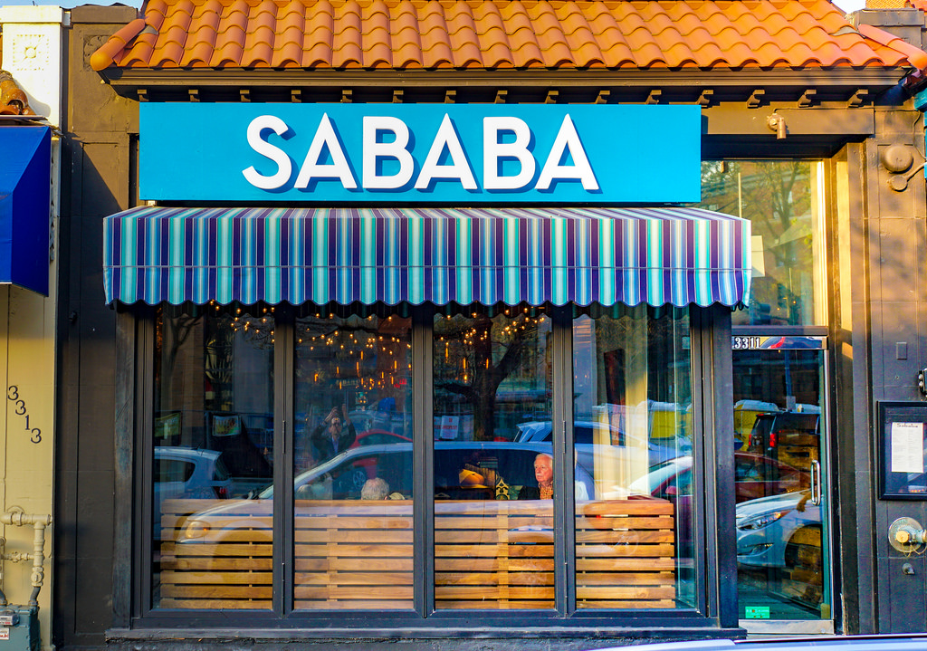 sababa is a slange word for cool and good and awesome in hebrerw