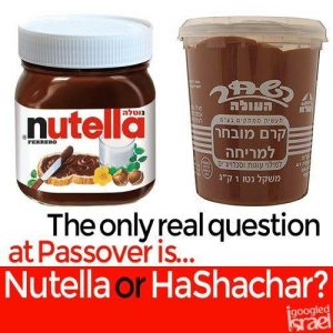 so which do you prefer on your matza?