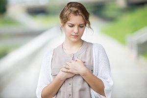 heart ache in hebrew is koev li halev