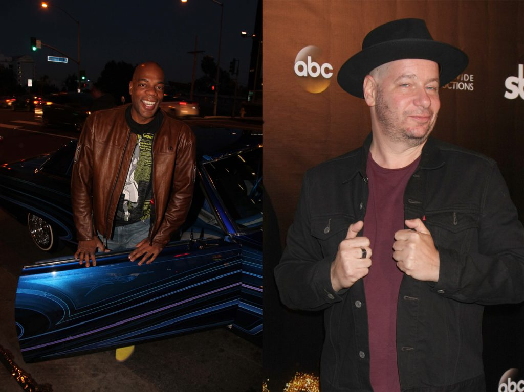 Alonzo bodden and jeff ross perform on funny monday in israel