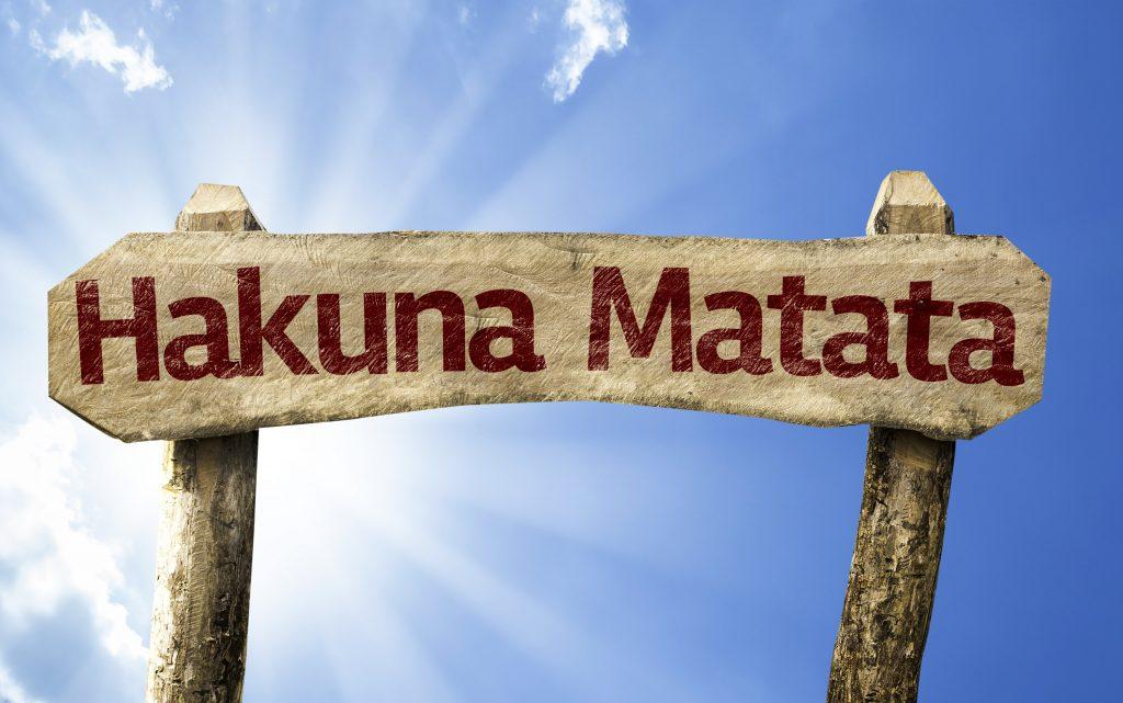 no worries as hakuna matata for the israeli comedy scene