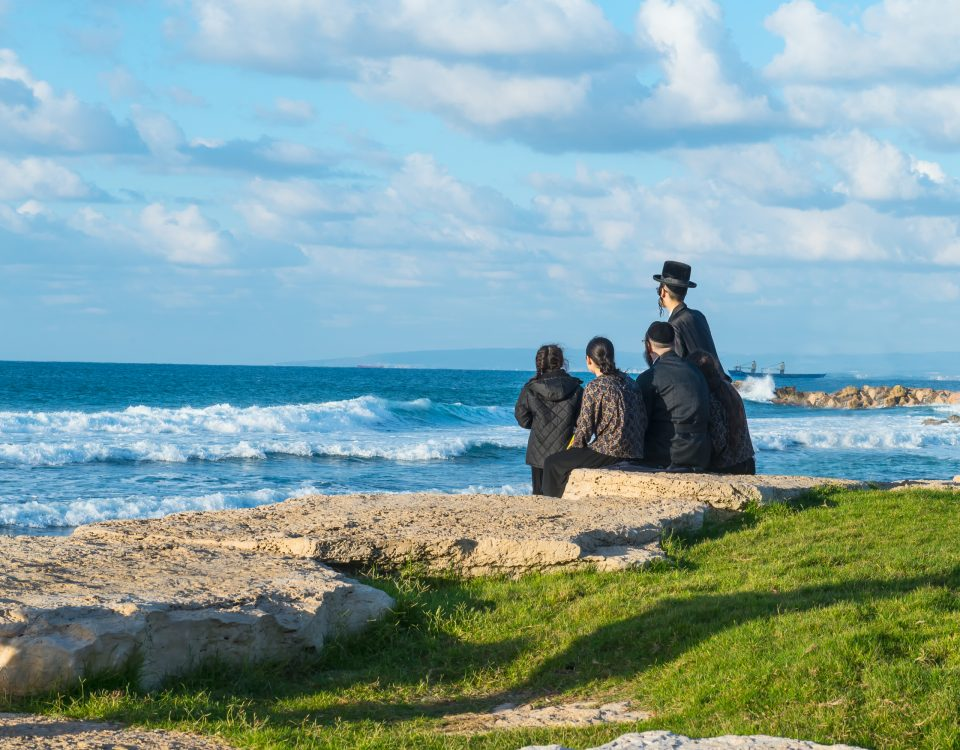 yom kippur at the beach